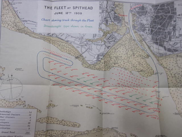 1909 Review of Naval Fleet at Spithead