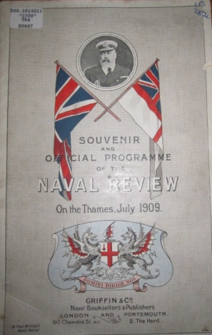 1909 Review of Royal Navy Program