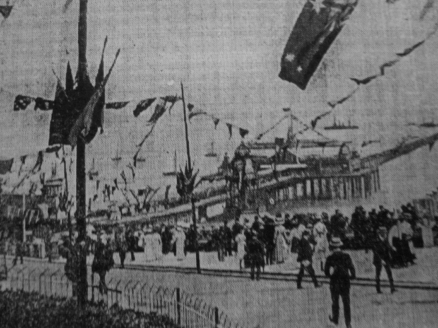 Southend on Sea, Daily Mirror, July 19,1909