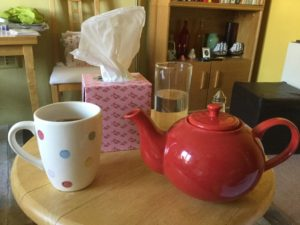 Tea and Kleenex